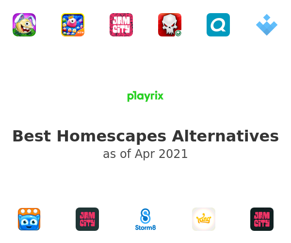 Best Homescapes Alternatives