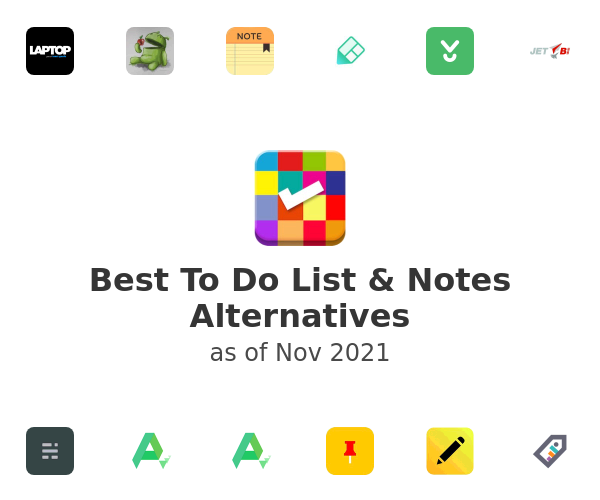 Best To Do List & Notes Alternatives