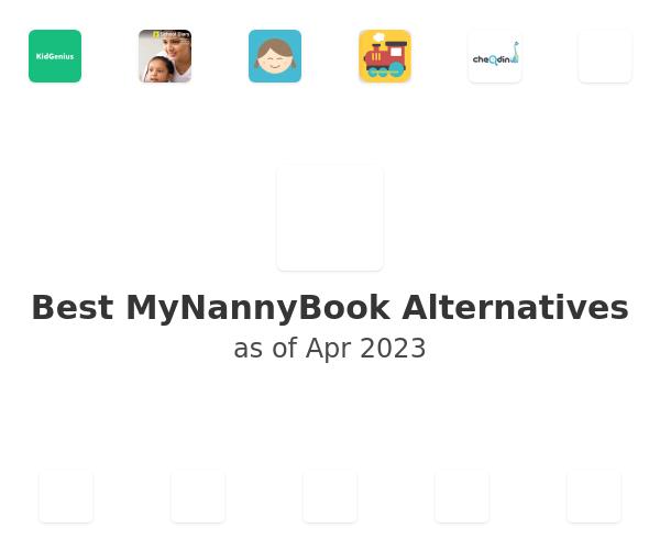 Best MyNannyBook Alternatives