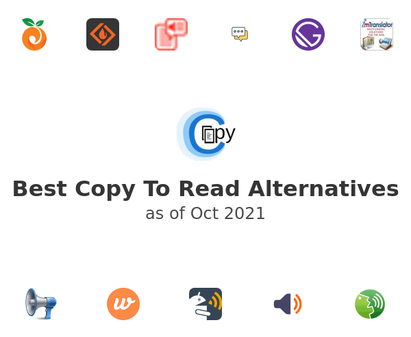 Best Copy To Read Alternatives