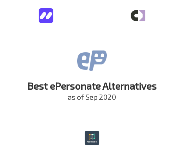 Best ePersonate Alternatives