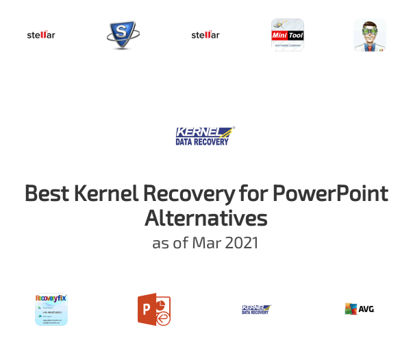 Best Kernel Recovery for PowerPoint Alternatives