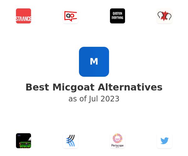 Best Micgoat Alternatives