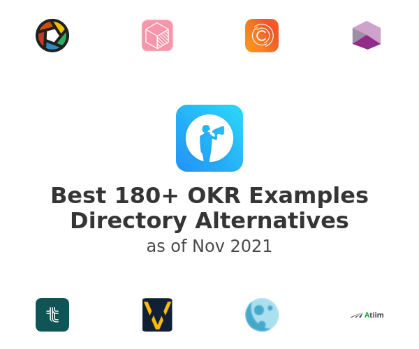 Best 180+ OKR Examples Directory Alternatives