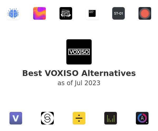 Best VOXISO Alternatives