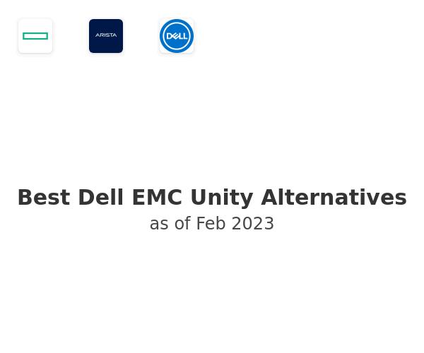 Best Dell EMC Unity Alternatives