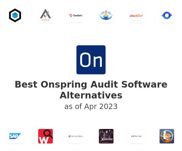 Best Onspring Audit Software Alternatives