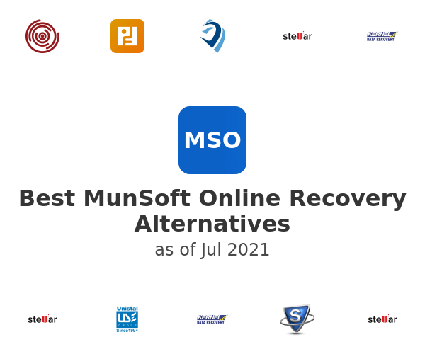 Best MunSoft Online Recovery Alternatives