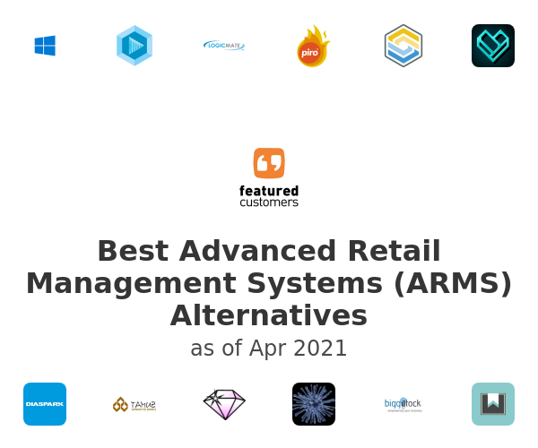 Best Advanced Retail Management Systems (ARMS) Alternatives