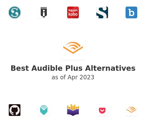 Best Audible Plus Alternatives