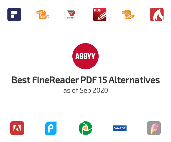 Best FineReader PDF 15 Alternatives