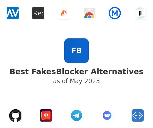 Best FakesBlocker Alternatives