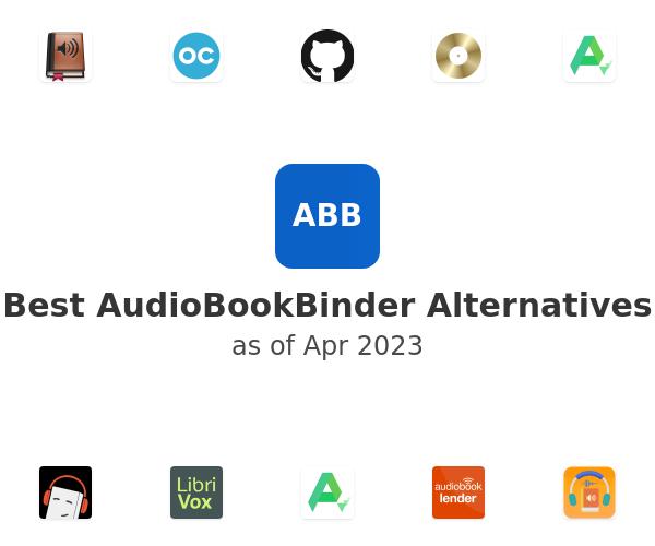 Best AudioBookBinder Alternatives
