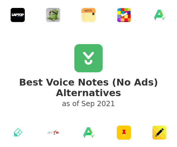Best Voice Notes (No Ads) Alternatives