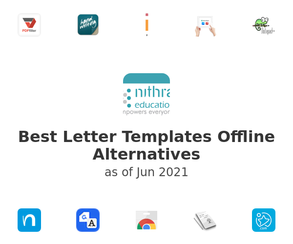 Best Letter Templates Offline Alternatives
