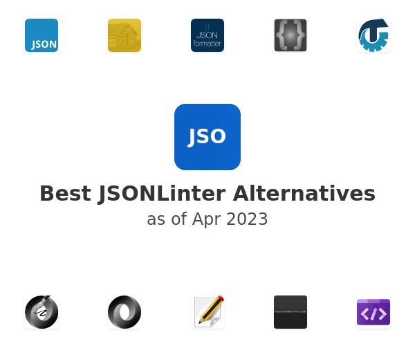 Best JSONLinter Alternatives