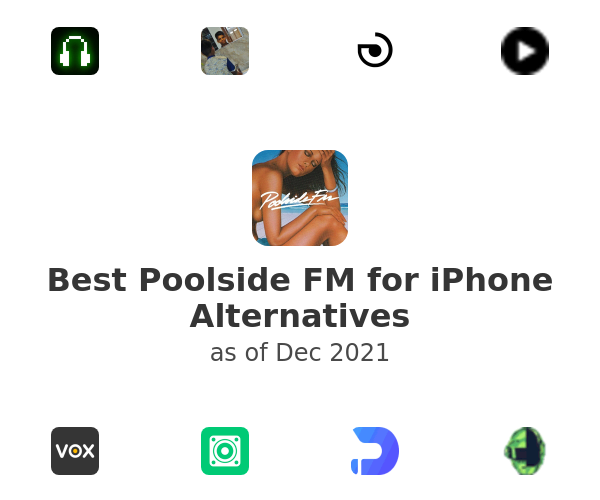 Best Poolside FM for iPhone Alternatives