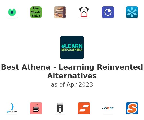 Best Athena - Learning Reinvented Alternatives