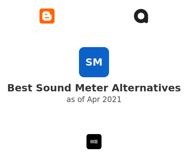 Best Sound Meter Alternatives