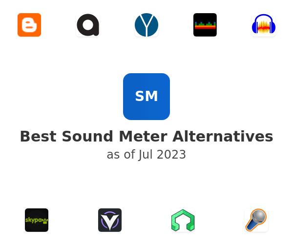 Best Sound Meter Alternatives