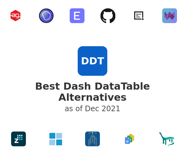 Best Dash DataTable Alternatives