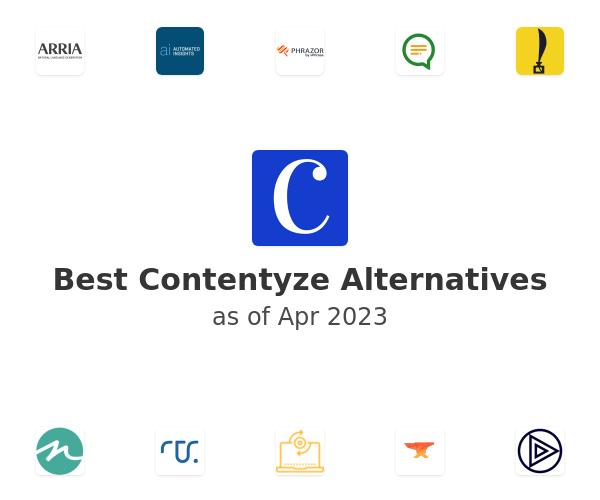 Best Contentyze Alternatives