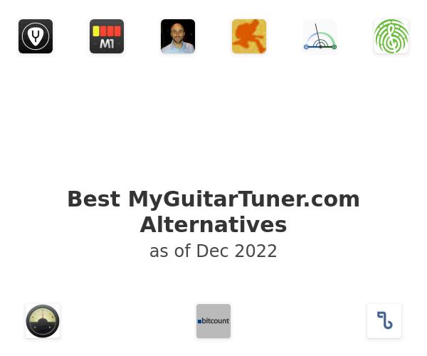 Best MyGuitarTuner.com Alternatives