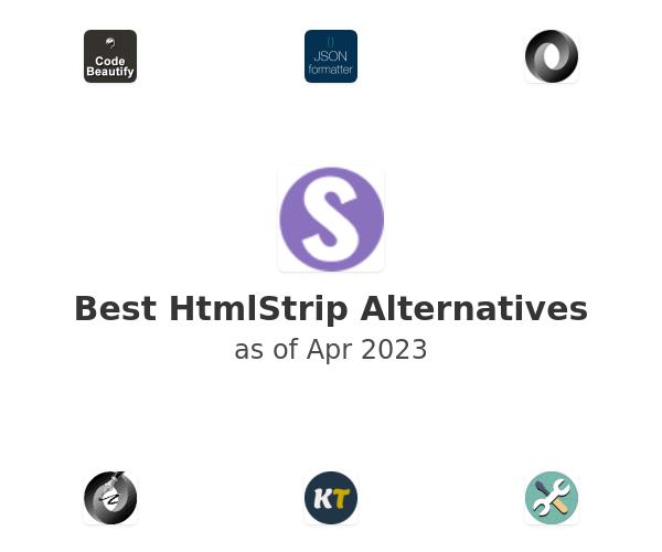 Best HtmlStrip Alternatives