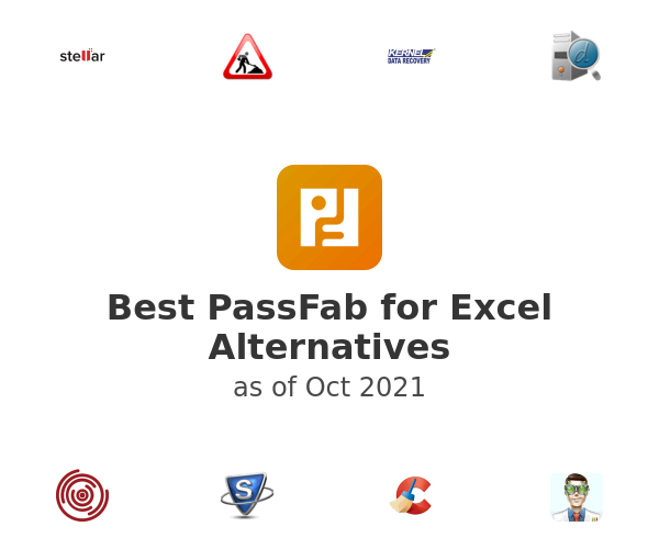 Best PassFab for Excel Alternatives