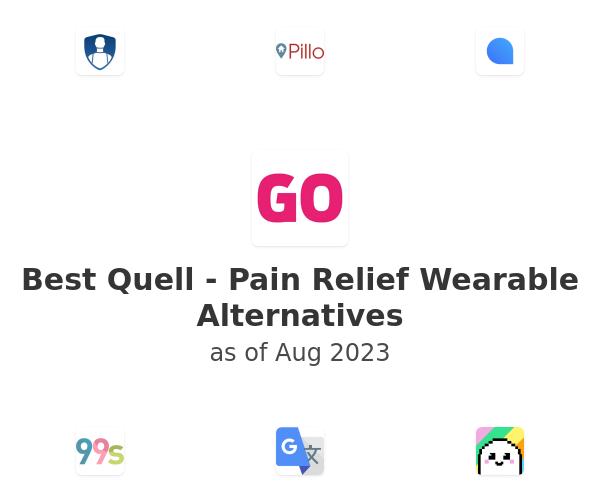 Best Quell - Pain Relief Wearable Alternatives