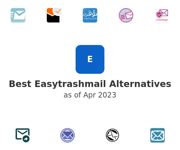 Best Easytrashmail Alternatives