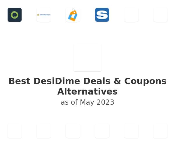 Best DesiDime Deals & Coupons Alternatives