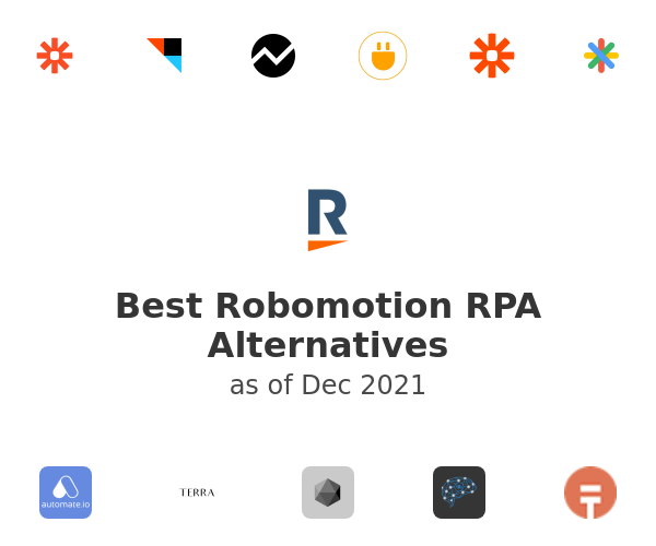 Best Robomotion RPA Alternatives