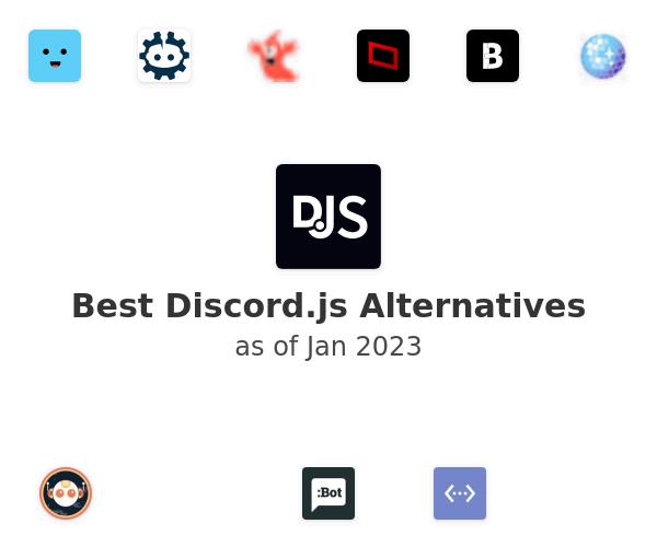 Best Discord.js Alternatives