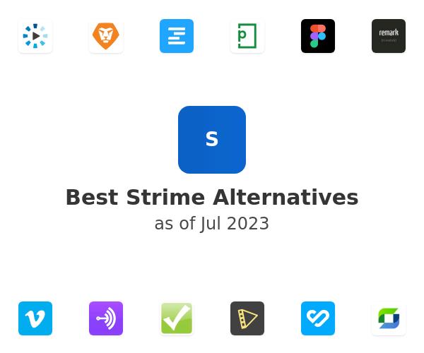 Best Strime Alternatives