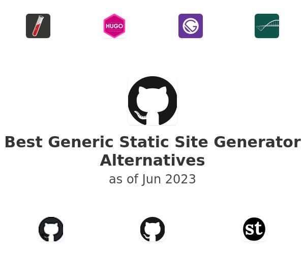 Best Generic Static Site Generator Alternatives