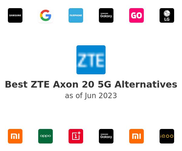 Best ZTE Axon 20 5G Alternatives