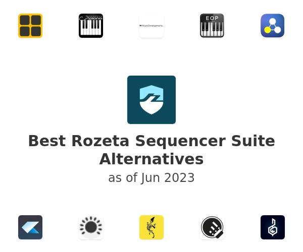 Best Rozeta Sequencer Suite Alternatives