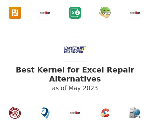 Best Kernel for Excel Repair Alternatives