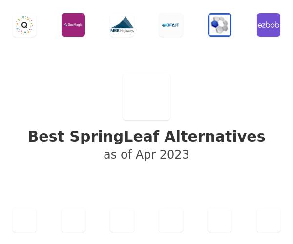 Best SpringLeaf Alternatives