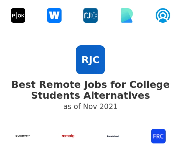 Best Remote Jobs for College Students Alternatives
