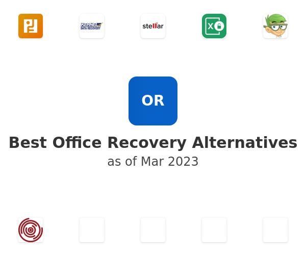 Best Office Recovery Alternatives