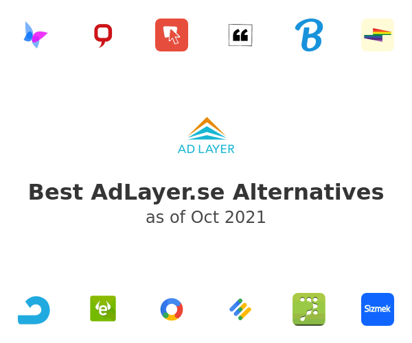Best AdLayer.se Alternatives