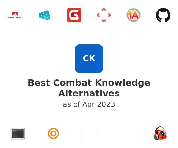 Best Combat Knowledge Alternatives