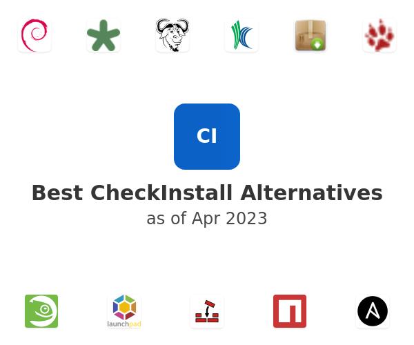 Best CheckInstall Alternatives