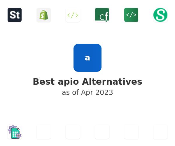 Best apio Alternatives