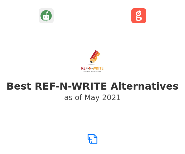 Best REF-N-WRITE Alternatives