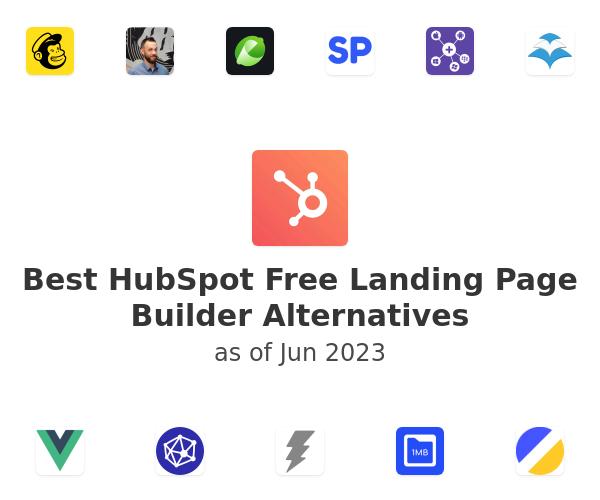 Best HubSpot Free Landing Page Builder Alternatives