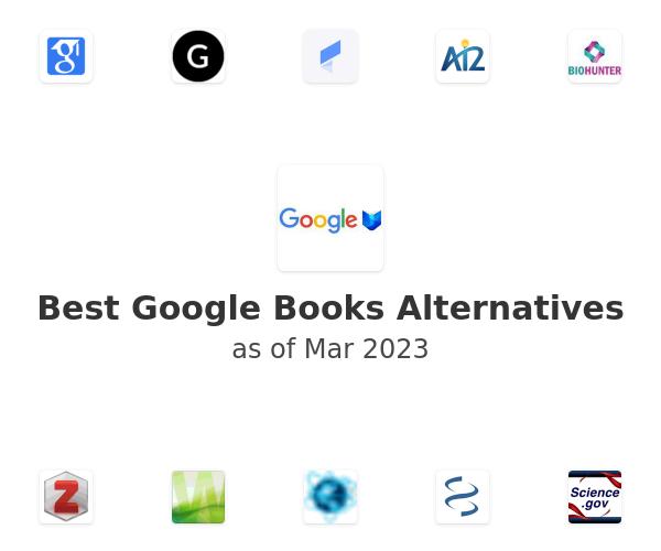 Best Google Books Alternatives
