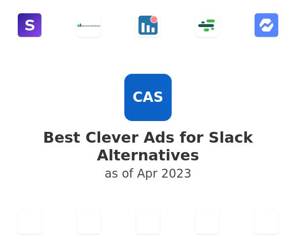 Best Clever Ads for Slack Alternatives